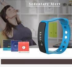 Gelang pintar 0.86 inci LED Layar Sentuh Bluetooth 4.0 Olahraga Kesehatan Latihan Kegiatan Tracker Kebugaran Tracker TLW24