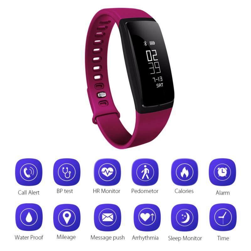 Smart Sports Band Watch Blood Pressure Heart Rate Waterproof Wristband AC809 Malaysia