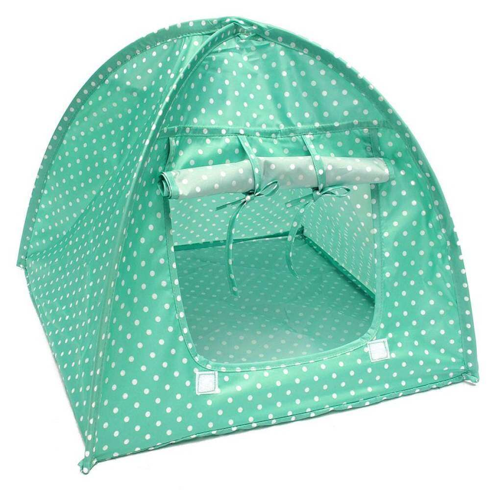 Soft Outdoor Foldable Kennel Pet Kitten Cat Bed Camp Tent Puppy DogPlay House-