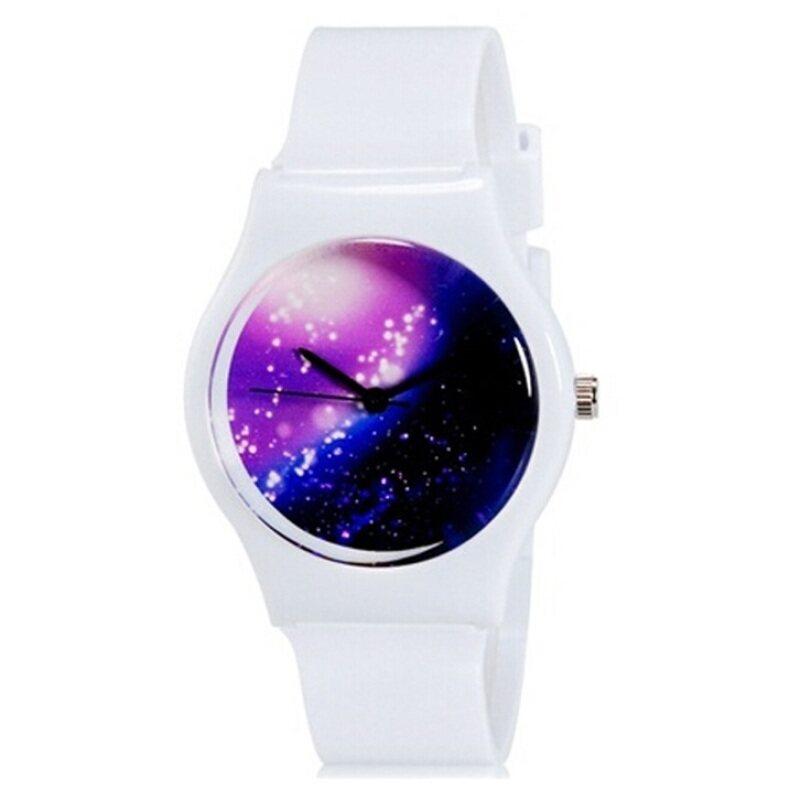 SoKaNo Trendz Galaxy Watch- White Malaysia
