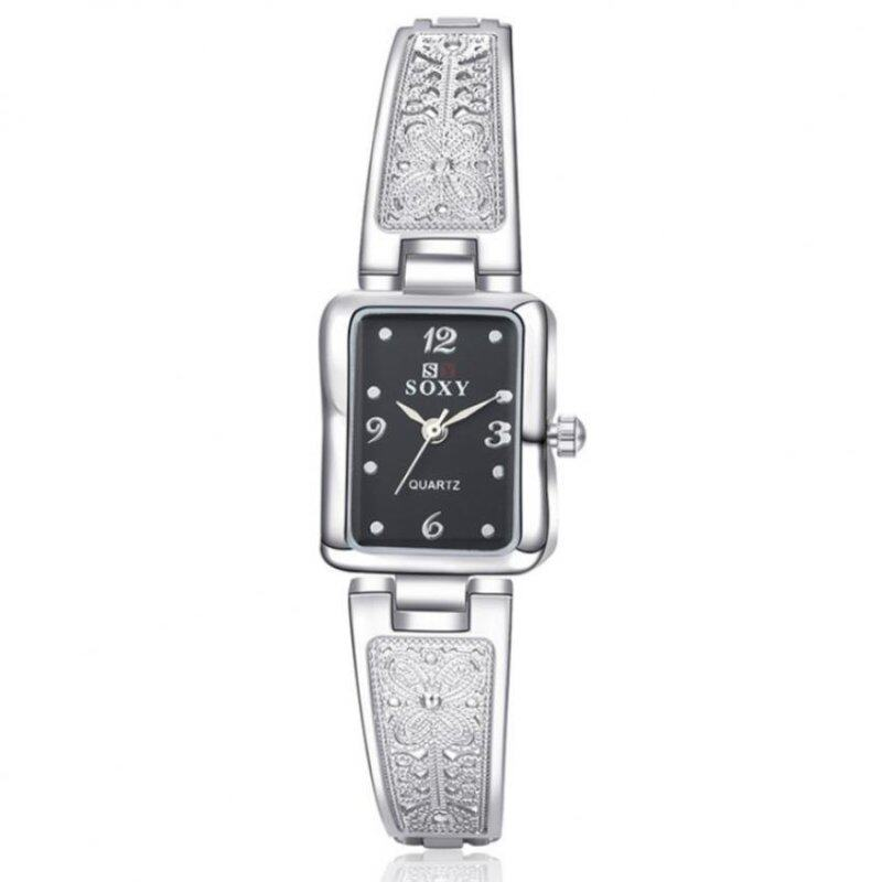 SOXY 0014 Elegant Bracelet Woman Watch- Silver (Free Watch Box) Malaysia