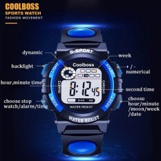 Sport Student Children Kids Watches Boys Clock Child LED Digital Wristwatch Electronic Wrist Watch Gift Malaysia