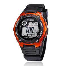 Sports Boy Digital LED Quartz Alarm Date Wrist Watch Waterproof OG Malaysia