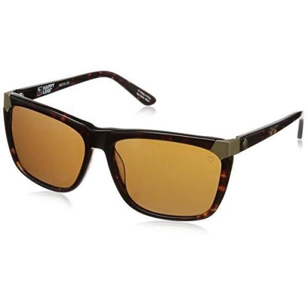Spy Optic Unisex Emerson Lensa Bahagia Koleksi Kacamata Hitam Gelap Tort/Perunggu-Internasional