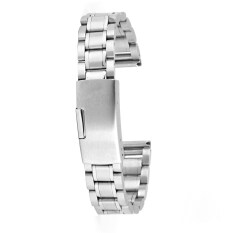 Stainless Steel Metal Watch Band Strap Straight End 14mm Silver Malaysia