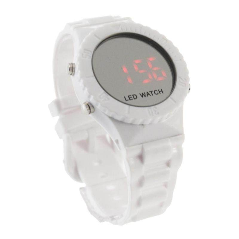 ERA Mirror Face LED Silicone Rubber band  Sport Watch New Malaysia