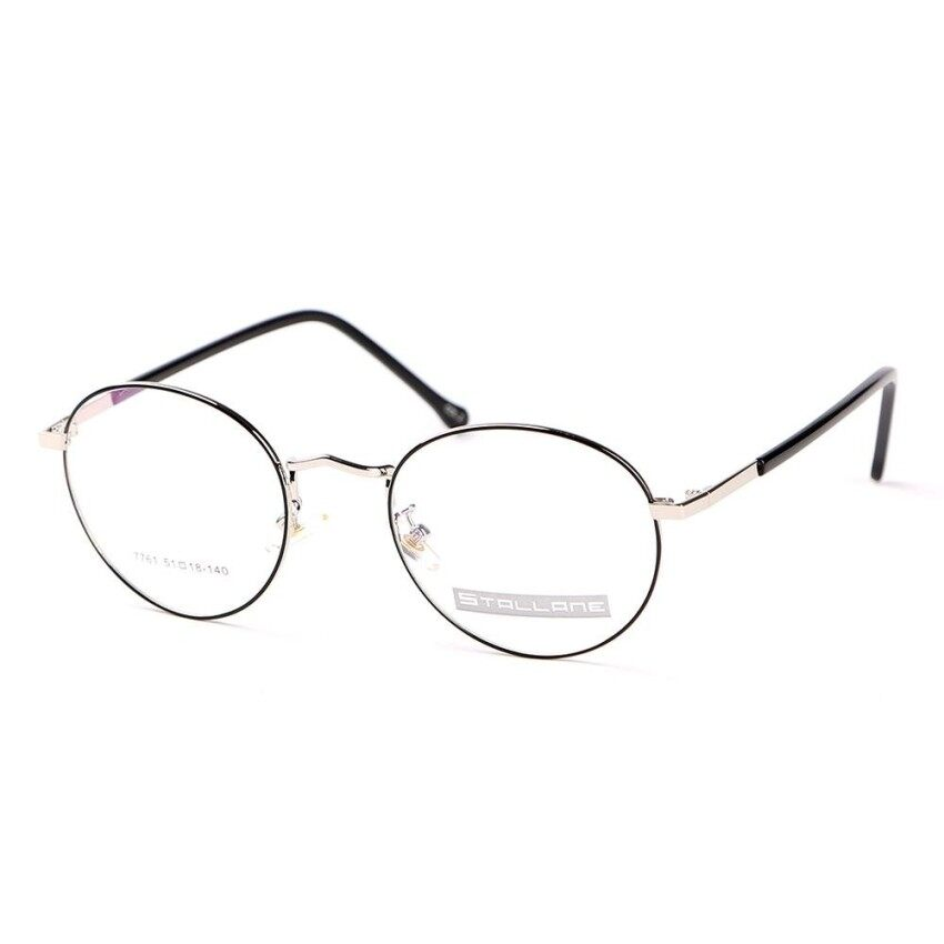TIANYOU JD Stallane Fashion Brand Optical Glasses Frame Vintage Eyewear Retro Spectacle Alloy Round Rim Eyeglasses