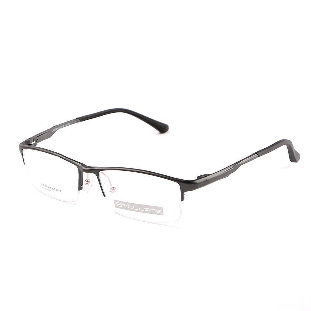 39ace1d05ad Price Stallane Fashion Brand Designer Optical Myopia Glasses Frame Holder  Business Eyewear Spectacle Alloy Half Rim