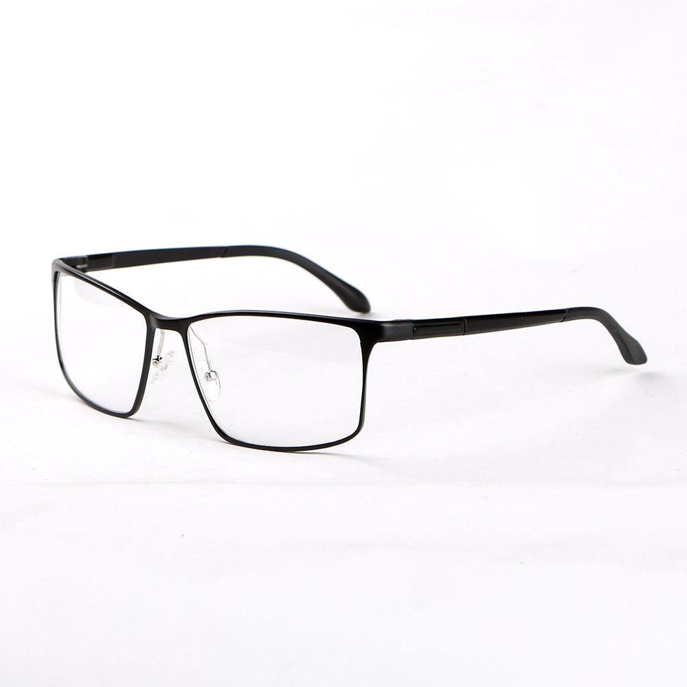 Stallane Optik Myopia Bingkai Aluminium Kacamata Modis Tontonan Kacamata Penuh Rim Kacamata untuk Pria (Hitam)-InternasionalIDR257000. Rp 257.000