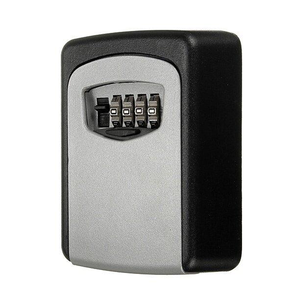 GoTime Steel Wall Mount Key Box Combination Lock Safe Storage Key Outside Security - intl