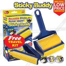 Sticky Buddy Roller Cleaner Lint Pet Hair Fur Remover Brush Reusable By Kvr Online Store.
