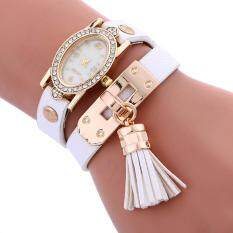Stylish simplicity Chimes Leather Bracelet Lady Womans Wrist Watch WH Malaysia