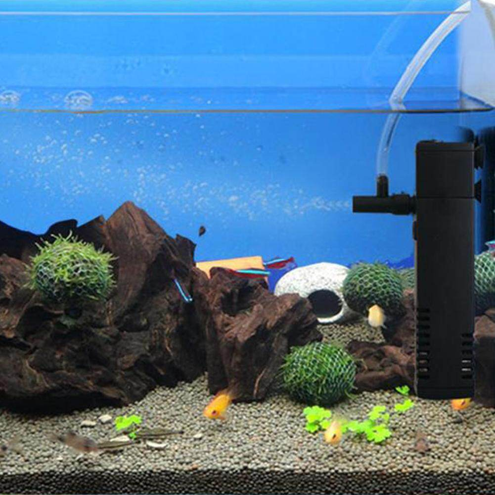 Sunshop 3W 300L Vertical Internal Aquarium Fish Tank Filter Filtration Pump Spray Bar EU Plug