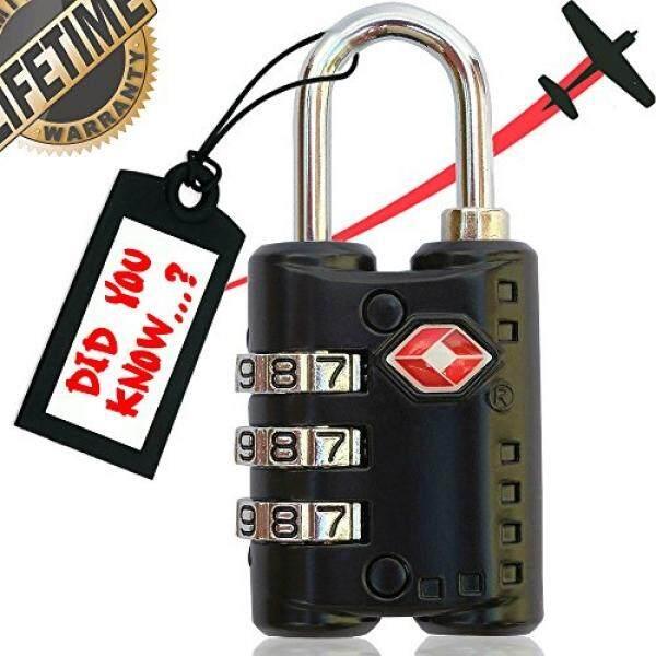 ... Gembok Koper Bagasi Source · Sureina Sureina Kunci Kombinasi Koper Perjalanan & Kunci Bagasi TSA Disetujui & Set Yang Diterima Kombinasi