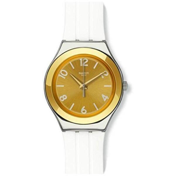 Swatch Jam Tangan Pria Hitam Emas Strap Hitam Suob126 Seeing Circles Source · Swatch Irony Big