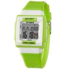 SYNOKE Watches Kid Children Boy Girl Motion Digital Watch Green Malaysia