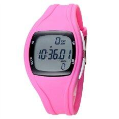 TTLIFE The Best Quality TTLIFE Childrens Primary School Students Colorful Sports Digital Pedometer Waterproof Luminous Watch(pink) Malaysia
