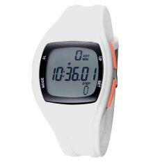 TTLIFE The Best Quality TTLIFE Childrens Primary School Students Colorful Sports Digital Pedometer Waterproof Luminous Watch(white) Malaysia