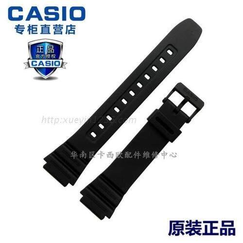 Casio Asli Paket AE-1200/1300/F-108/W-216 Kedua Hitam Ringan Pria Jam Tangan Aksesori Jam Tangan Tali Jam Tangan klasik Pria Klasik-Internasional