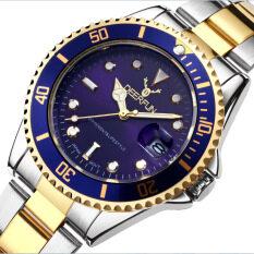 The water ghost tuhao gold, hot sells watch high-grade male watch, waterproof, wristband, calendar, quartz watch, non - mechanical Malaysia