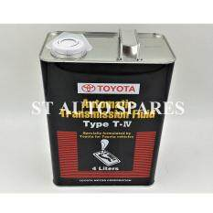 Toyota Atf Type T-Iv Fluid Oil 4l 08886-81400 By St Auto Spares.