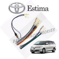 Toyota Estima Acr-50 Oem Plug And Play Socket Cable Player Socket + Antenna Socket By Car Online Automart