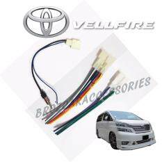 Toyota Vellfire 2008-2013 Oem Plug And Play Socket Cable Player Socket + Antenna Socket By Car Online Automart.