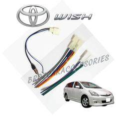 Toyota Wish 2003-2008 Oem Plug And Play Socket Cable Player Socket + Antenna Socket By Car Online Automart.