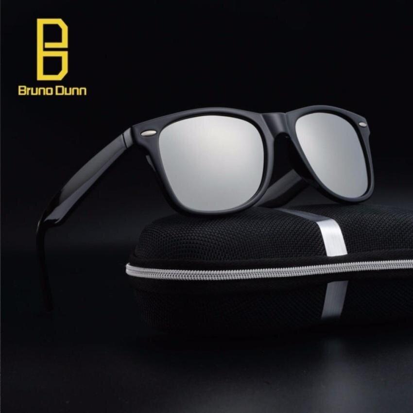 Tp Fashion Polarized Sunglasses 2017 New Woman Menbranddesignerretro Sun Glasses Male Eyewear Ray 2140 (Black