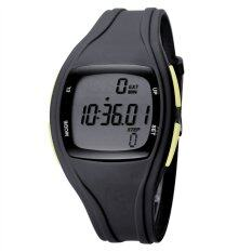 TTLIFE Childrens Primary School Students Colorful Sports Digital Pedometer Waterproof Luminous Watch(black) Malaysia