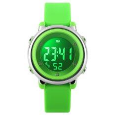 TTLIFE TTLIFE  Great   Quality  Popular Brand Colorful Children Fashion Sports LED Digital Water Resistant Watches   (green) Malaysia