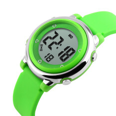 TTLIFE TTLIFE  High  Quality  Popular Brand Colorful Children Fashion Sports LED Digital Water Resistant Watches   (green) Malaysia