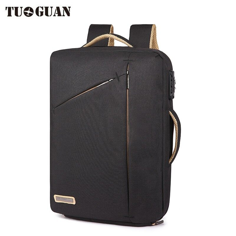 Tuguan Men Anti Theft Password Lock Backpack Business Sch**l Back Pack Laptop Backpacks Waterproof Bags Boy Travel Bagpack Male Intl Coupon