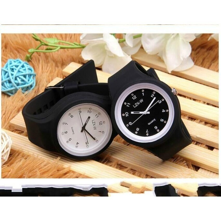TTW High School Studen Watch Girls Waterproof Colored Lightjellytable Fashion Candy Color Childrens Watch Malaysia