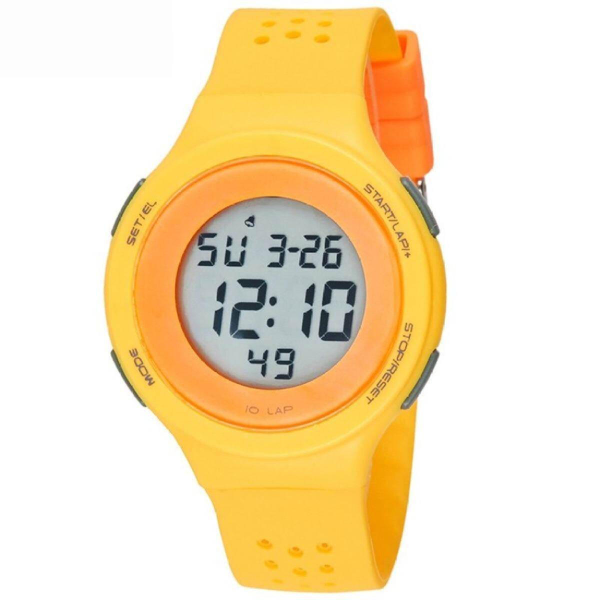 TwinkleStar Spor Wrist Watches Led Digital For Watch Boys And Girls67866-Yellow Malaysia
