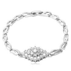 MYR 40. U7 Luxury Zircon Jewelry Platinum Plated Trendy Women's Gift Cubic Zirconia ...