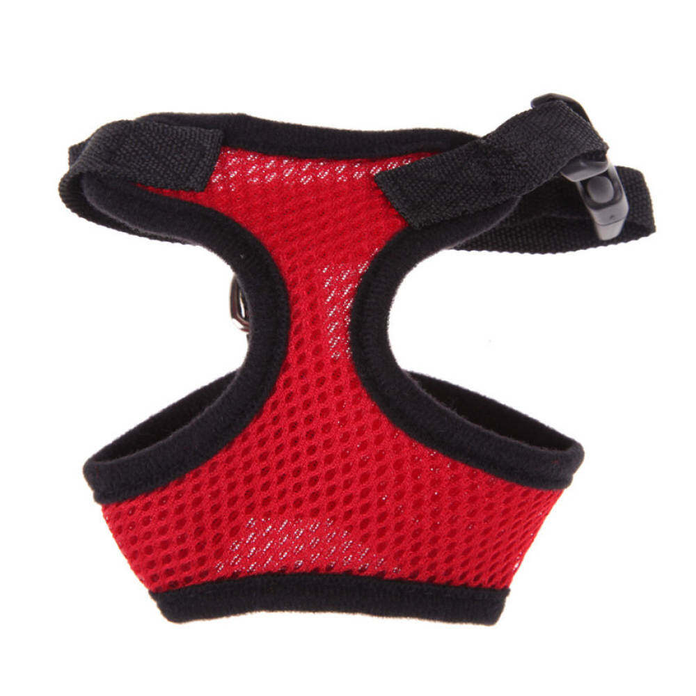 Ujs Soft Mesh Dog Harness Pet Puppy Cat Clothing Vest Red L By Qjq Store.