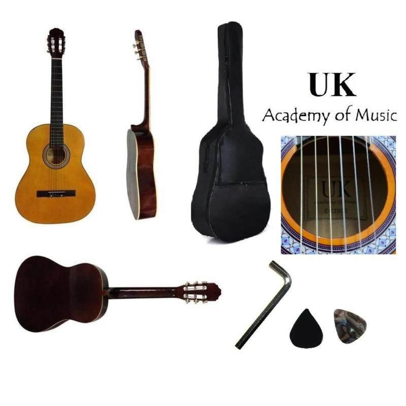 UK Classical Guitar 39 Inch +Bag+Allen Key+2 Picks Malaysia