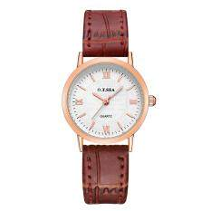 Ultrathin Leather Pair Quartz Watches Fashionable Wrist Watch for Couples Man Woman Waterproof Set of 2