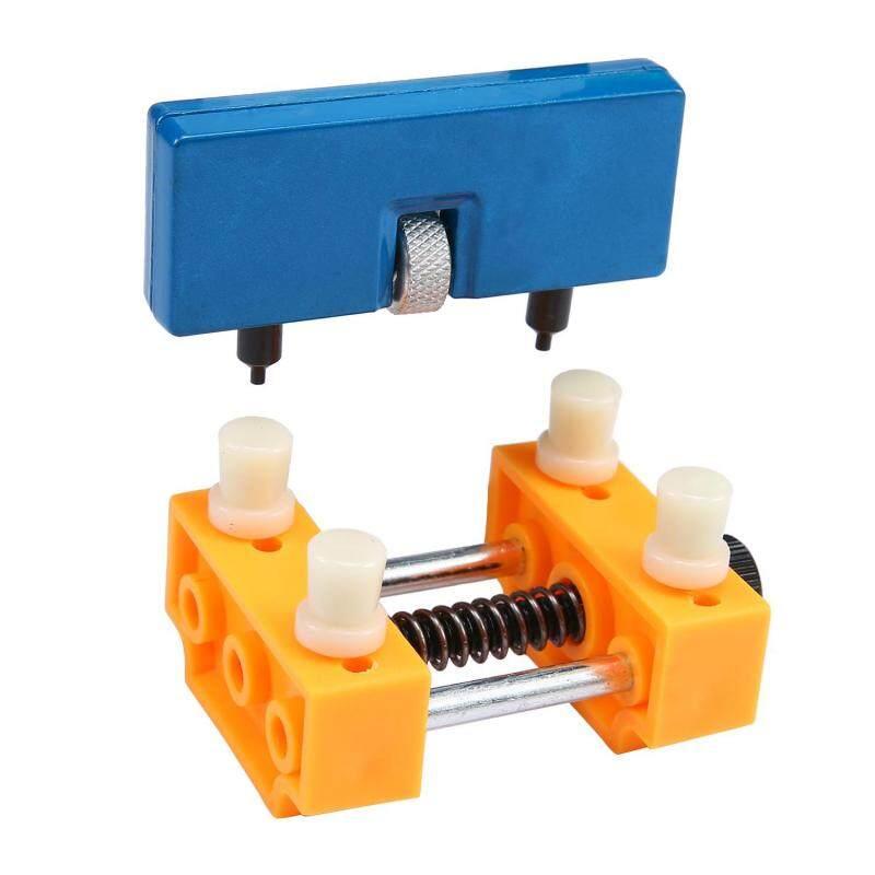 Umiwe Watch Opener Tool Back Case Press Closer Remover Repair Tool And Watch Repair Remover Holder Tool,Yellow+Blue Malaysia