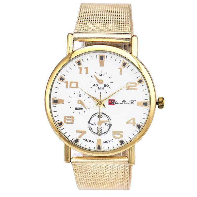 Unisex Contracted Fashion Watches Steel Band Watches Malaysia