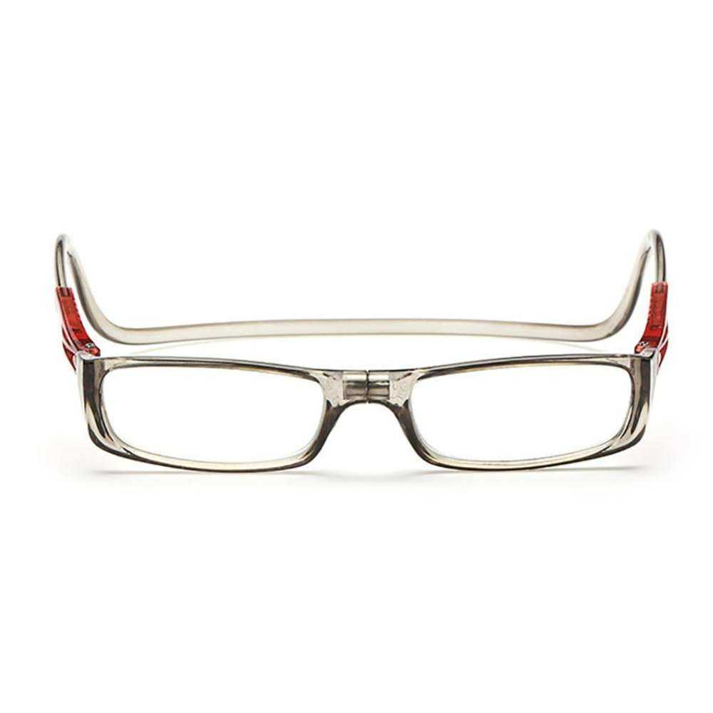 Luda Unisex Magnet Foldable Neck On Light Reading Grey the for Weight Aged Glasses
