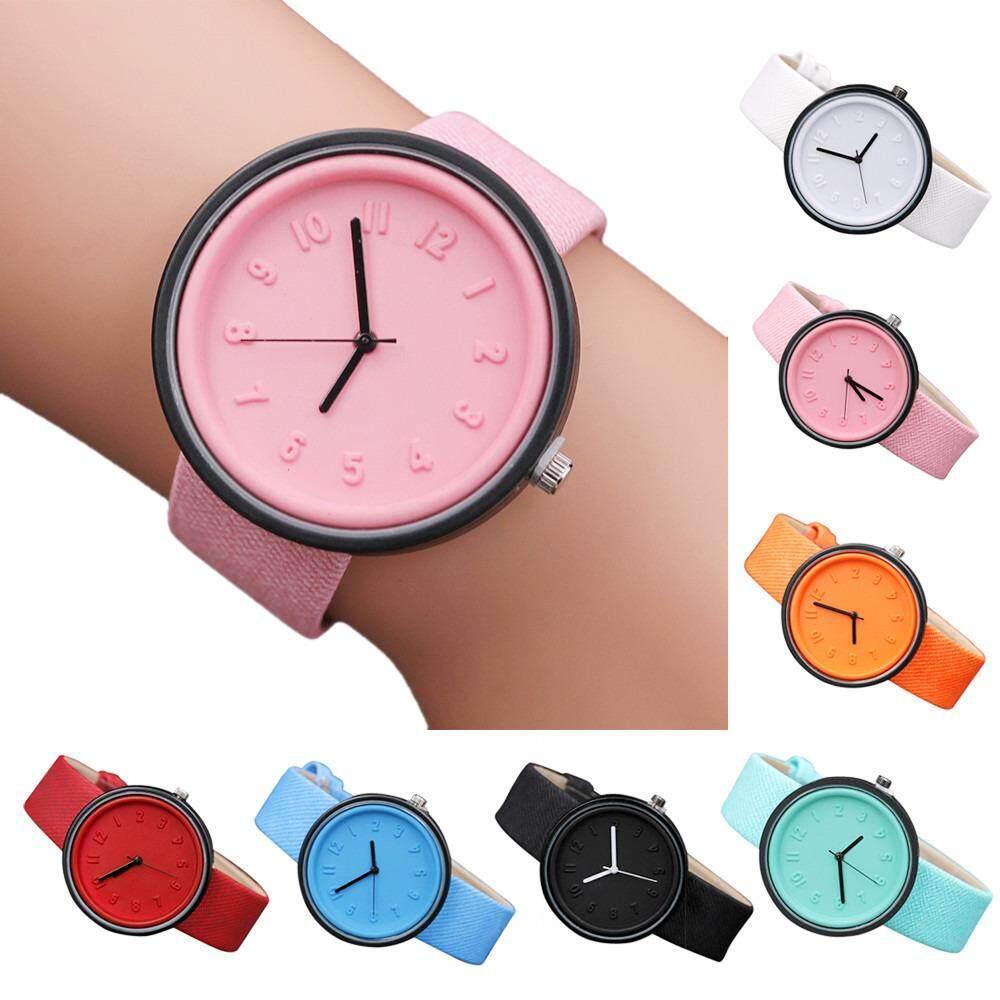 เรียบง่ายจำนวนนาฬิกาแฟชั่นควอตซ์เข็มขัด - นานาชาติ.