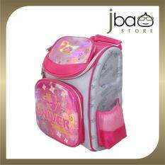 Univer Hard Case Kid School Bag / Primary Student Backpack (pink) By Jbaostore.