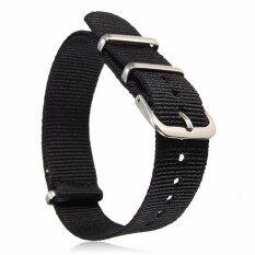 Universal 18mm Durable Mens Military Nylon Wrist Watch Band Strap 260mm 30# Malaysia