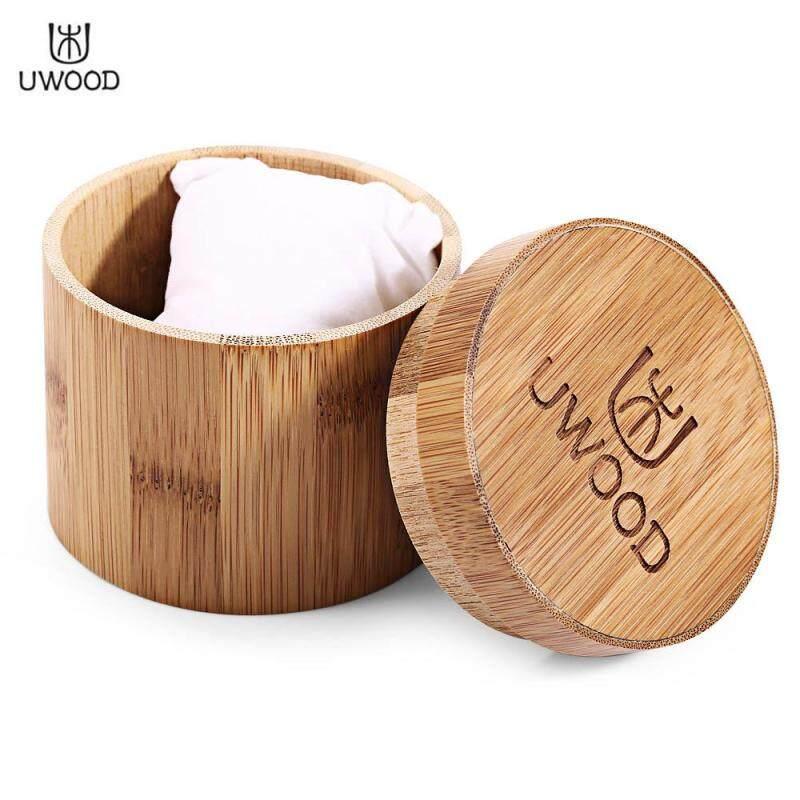 UWOOD Carbonized Bamboo Watch Case Cylindric Shape Box Malaysia
