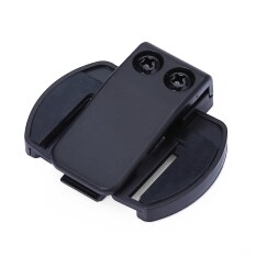 V6 Bt Bluetooth Motorcycle Motorbike Helmet Intercom Headset Bracket Clip Holder By Islandmall.