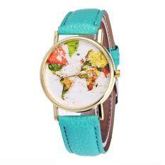 Vansvar Watch Candy Color Male And Female Strap Wrist Watch Malaysia