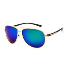 9dd06f24dba VEITHDIA 2362 Men s Brand Designer Sunglasses Polarized TR90 UV400 Gold  frame blue lens for Men