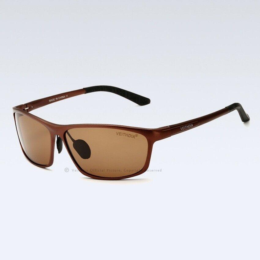 VEITHDIA 6520 2017 Kedatangan Baru Kaca Mata Pria Terpolarisasi Lensa VEITHDIA Matahari Kacamata Merek Desainer Kacamata